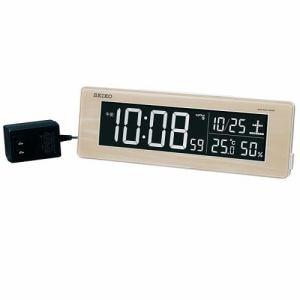 セイコークロック DL210A 電波デジタル時計 シリーズC3 温・湿度表示 電子音アラーム グラデーションモード搭載