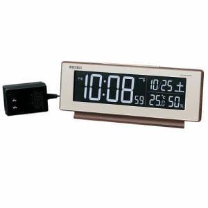 セイコークロック DL211B 電波デジタル時計 シリーズC3 温・湿度表示 電子音アラーム グラデーションモード搭載