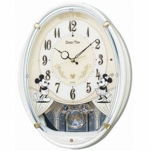 セイコークロック FW579W キャラクター 電波掛時計 スイープセコンド おやすみ秒針 飾り振り子付