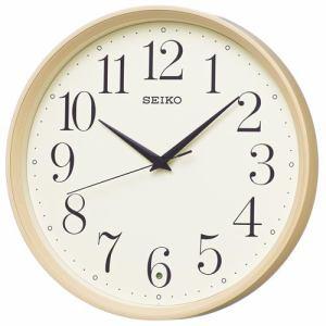 セイコークロック KX222A スタンダード 電波掛時計 スイープセコンド おやすみ秒針