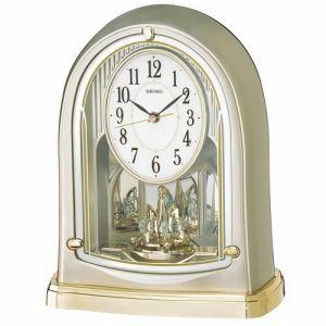 セイコークロック BY241G 電波置時計 スタンダード スイープ秒針 一方向回転飾り付