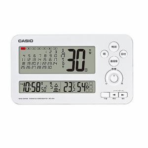カシオ IDC-400J-7JF デジタル電波時計 置時計 カレンダー表示(西暦/年号切替付) 音声ガイド機能付
