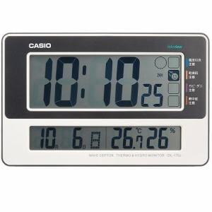 カシオ IDL-170J-7JF デジタル電波時計 置時計 温度湿度表示 日付表示 生活環境お知らせ機能