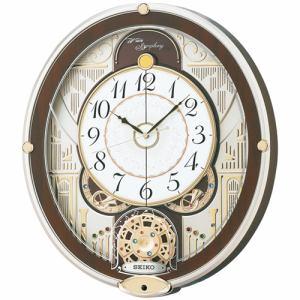 セイコークロック RE577B からくり掛け時計 正時パフォーマンス&6曲メロディ