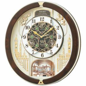 セイコークロック RE579B からくり掛け時計 正時パフォーマンス&メロディセレクト