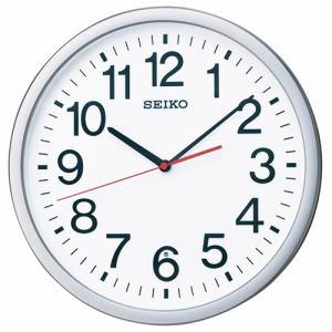 セイコークロック KX229S 電波掛け時計 オフィスタイプ