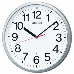 セイコークロック KX230S 電波掛け時計 オフィスタイプ