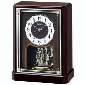 セイコークロック BY243B 電波置時計 スタンダード