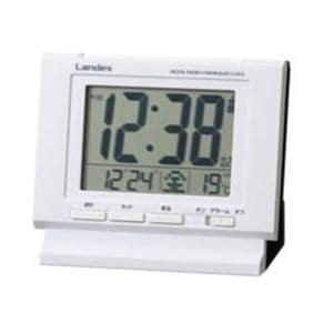 LANDEX デジタル電波目覚まし時計 YT5233