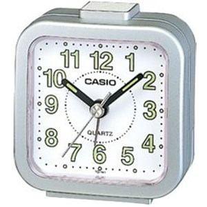 カシオ TQ-141-8JF (シルバーメタリック) 目覚まし時計