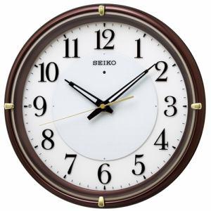 セイコークロック KX233B 夜でも見える 電波掛時計