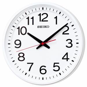 セイコークロック KX236W 電波掛時計 スイープセコンド クイックスタート機能つき