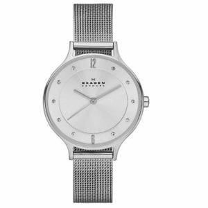 スカーゲン SKW2149 Anita Steel Mesh Watch シルバー/シルバー 並行輸入品