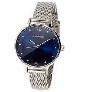 スカーゲン SKW2307 Anita Steel Mesh Watch シルバー/ブルー 並行輸入品