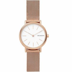 スカーゲン SKW2694 Signatur Slim Rose Gold Tone Steel Mesh Watch 並行輸入品