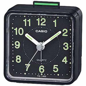 カシオ TQ-140S-1JF 目覚まし時計 「トラベルクロック」