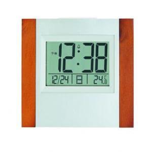 アデッソ 8727 ウッド電波時計