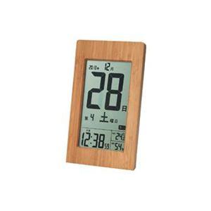 アデッソ T-8656 竹の日めくり電波時計