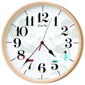 セイコー FW584A 電波掛け時計 「ミッキー&ミニー」