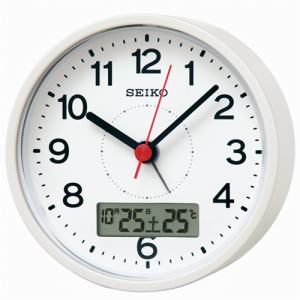 セイコー KR333W 電波目ざまし時計