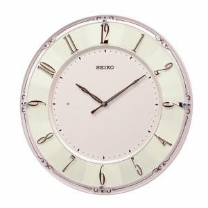 セイコー KX504P 電波掛時計 ピンク