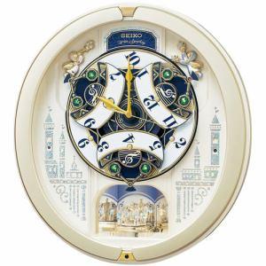セイコー RE579S 電波からくり掛け時計