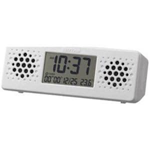 リズム時計 8RDA73RH03 置き時計 「アクアプルーフ ミュージック」