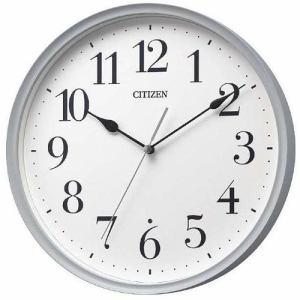 シチズン 8MY528-004 RHYTHM 木枠 連続秒針 電波掛時計