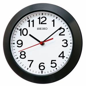 セイコークロック KX241K 電波掛置兼用時計 SEIKO 黒メタリック塗装