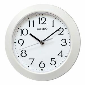 セイコークロック KX241W 電波掛置兼用時計 SEIKO 白パール塗装