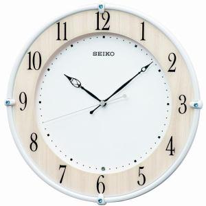 セイコークロック KX242B 電波掛時計 SEIKO メープル調木目