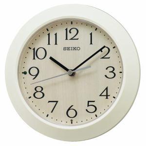 セイコークロック KX245A 電波掛置兼用時計 SEIKO アイボリー塗装