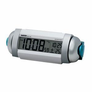 セイコークロック NR719W 電波目覚時計 RAIDEN 白パール塗装