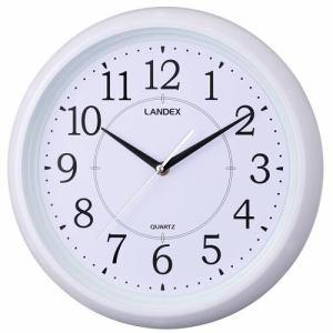 LANDEX YW9124WH スタンダードワン  連続秒針 白