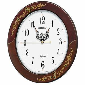 セイコー 掛け時計 大人ディズニー FS510B ミッキー&ミニー