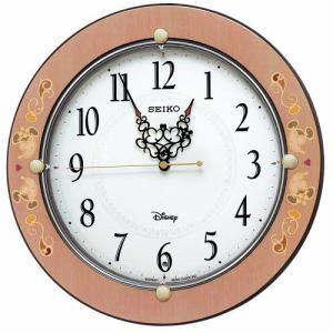 セイコー 掛け時計 大人ディズニー FS511P ミッキー&ミニー