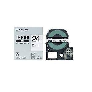 白ラベルテープ 「テプラPRO」(白テープ/黒文字/24MM幅) SS24K