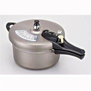 北陸アルミニウム 30276 IH リブロン圧力鍋 片手式 4.5L