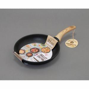 アイリスオーヤマ SKL-24IH スキレットコートパン 24cm 片手 IH対応
