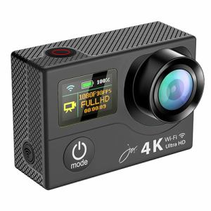 ジョワイユ SVC500BK 4K-WiFi 1080PアクションカメラPRO ブラック