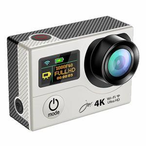 ジョワイユ SVC500SV 4K-WiFi 1080PアクションカメラPRO シルバー