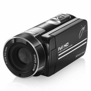 ジョワイユ JOYF9IRBK 赤外線機能付フルハイビジョン デジタル ムービー カメラ ブラック