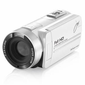 ジョワイユ JOYF9IRWH 赤外線機能付フルハイビジョン デジタル ムービー カメラ ホワイト