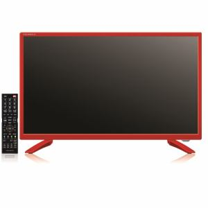 ステイヤー TV24HDD1T-RD 24V型 1TBハードディスク&Wチューナー搭載 地上波BS・CSデジタル液晶テレビ レッド GRANPLE