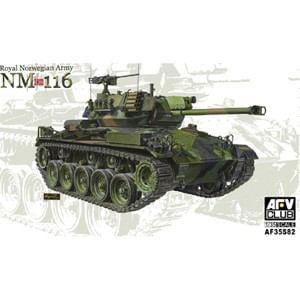 AFVクラブ (再生産)1/ 35 ノルウェー陸軍 NM-116軽戦車(FV35S82)プラモデル