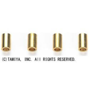 タミヤ 【ミニ四駆】AO-1023 2段アルミローラー用5mmパイプ(4本)