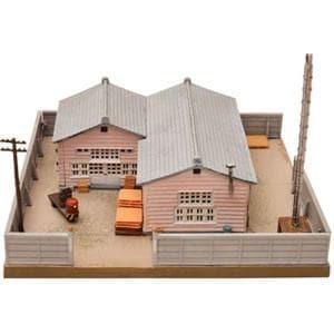 トミーテック (N) 建物コレクション009-3 町工場C3~食品加工所~