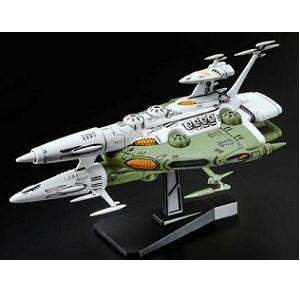 バンダイ プラスチックキット メカコレクション 宇宙戦艦ヤマト2199 No.06 ラスコー級