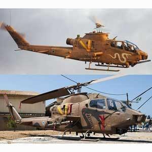 ハセガワ 1/ 72 AH-1F コブラ イスラエル空軍 2機セット(02130)プラモデル