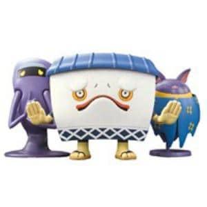 バンダイ 妖怪ウォッチ ムリカベ&ジミー&ヒキコウモリ かくれんぼで遊ぼうセット プラスチックキット